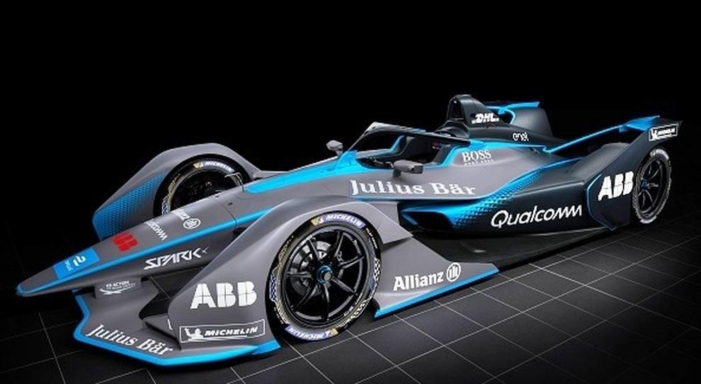 La nuova Monoposto della Formula E che entrerà dal prossimo campionato i cui freni saranno forniti dalla Brembo