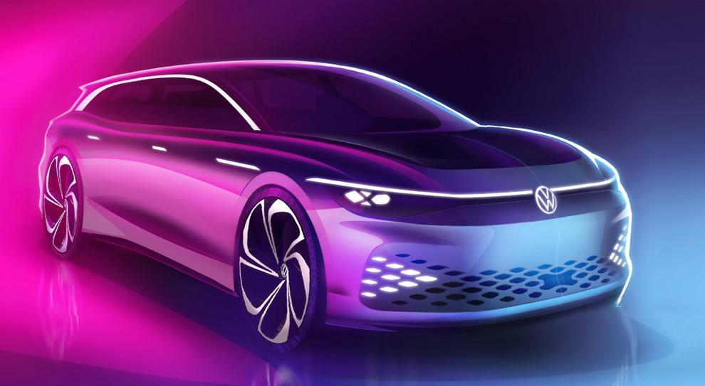 La Volkswagen ID Space Vizzion