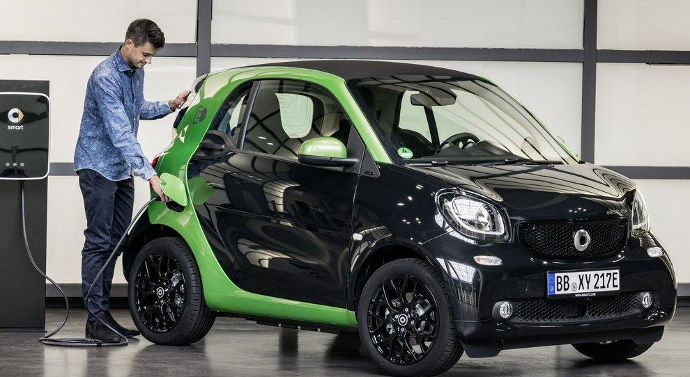 La Smart Fortwo electric drive