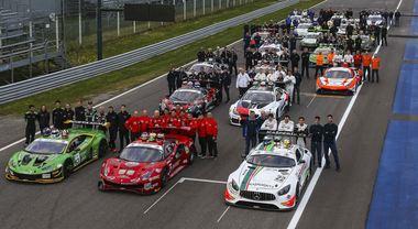Vallelunga, weekend spettacolare con il Campionato Italiano GT
