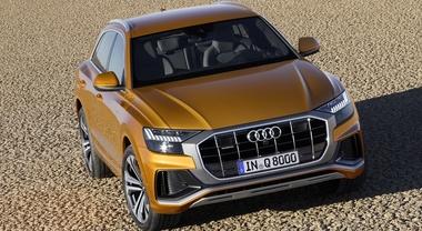 Q8, ecco il Suv-Coupé hi-tech di Audi: stile, qualità e contenuti al top della categoria