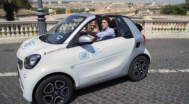 Roma, raddoppia il car sharing: presto sarà esteso anche in periferia