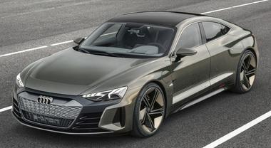 Audi e-tron GT concept: la supercar elettrica dei Quattro Anelli debutta a Los Angeles. In vendita dal 2020