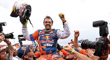 Walkner trionfa su KTM, Cerutti 20° su Husqvarna è il migliore tra gli italiani. Casale è il primo nei Quad