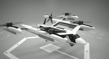 Uber mostra il primo prototipo di taxi volante. Il lancio previsto nel 2020