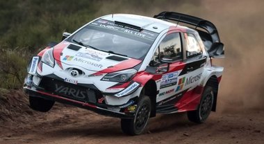 Rally Argentina, Tanak (Toyota Yaris) continua a volare. Due Hyundai alle sue spalle