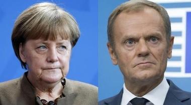 Merkel: «Aperta a collaborare con nuovo governo». Tusk: «Unità per sfide comuni»