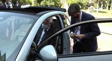 """Presentazione al Presidente Mattarella della nuova """"Fiat 500"""" elettrica"""