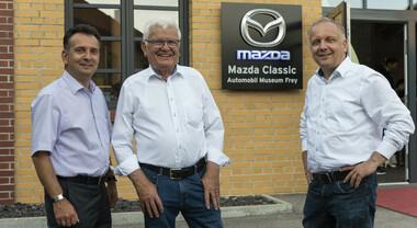 Il Museo Mazda di Augsburg, la collezione privata della famiglia Frey. Tutto è cominciato con il motore rotativo