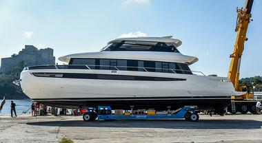 Meglio tardi che mai: varato il nuovo Cetera 60, inedito yacht multispace firmato da Francesco Guida