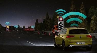 Sicurezza, avviso pericolo locale (Local Hazard Warning) di Volkswagen premiato da Euro NCAP