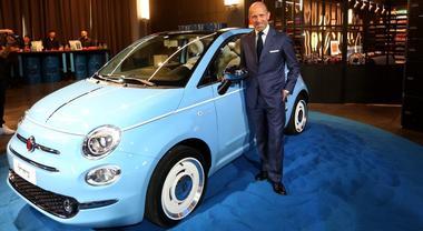 Napolitano, Fiat: «La nuova Spiaggina è un omaggio alla nostra auto più importante»