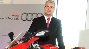Stadler (Audi): «Nel futuro di Ducati una due ruote elettrica. I tempi dell'arrivo non decisi»