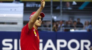 Vettel: «Momento difficile, ma tifosi sempre vicini»