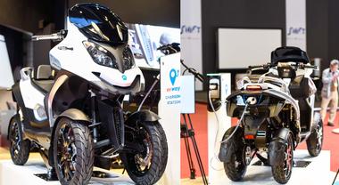 Qooder elettrico, show di Quadro Vehicles. Arriva il quadriciclo sicuro ed ecologico