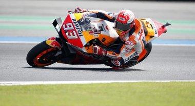 Gp Thailandia, Marquez: «Mi fa male tutto, ma in gara non sarà una scusa»