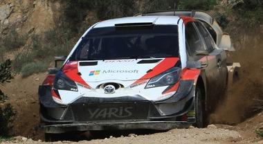 Toyota in Sardegna punta forte sull'estone Tänak, vincitore dell'ultimo Rally d'Italia