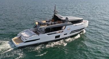Arcadia festeggia a Düsseldorf 10 anni di successi con lo Sherpa XL, eco yacht alla conquista del mondo