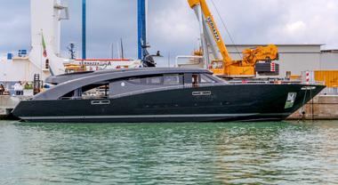Freedom, nuovo yacht dello stilista Cavalli. Costruito da CCN, in passerella a Montecarlo
