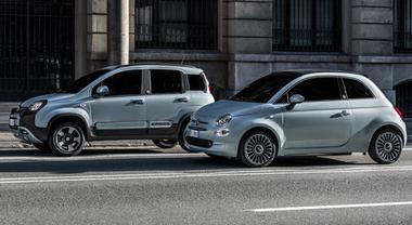 Panda Hybrid e 500 Hybrid, le citycar Fiat debuttano nelle versioni green