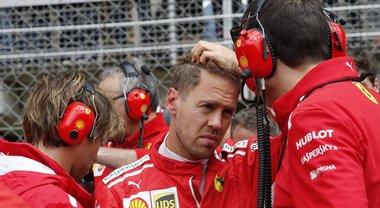 Ferrari, Vettel: «Le due soste? Siamo stati costretti dalle gomme»
