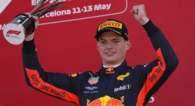 Gp Barcellona, Verstappenn sincero: «Ho avuto fortuna nell'incidente»