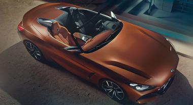 BMW Z4 Concept, a Francoforte anteprima europea per la sportiva che fa già sognare