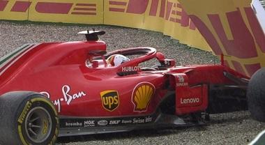 Formula 1, l'incidente di Vettel ad Hockenheim