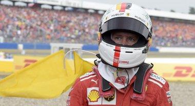 Vettel: «Piccolo errore dall'impatto enorme. Più deluso che arrabbiato, avevo gara in pugno»