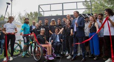Toyota Wheel Park, apre a Roma il primo skate park in Italia aperto a tutti