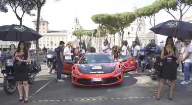 Ferrari Guinness World, battuto il record di... Google Maps