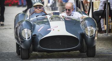 Concorso Villa d'Este, la Ferrari 335 Sport è Best of Show. Gioiello del '58 vince il Trofeo Bmw Group
