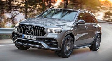 Mercedes: arriva l'ibrido anche sui super Suv AMG. Ecco GLE 53 4MATIC+ con tecnologia EQ Boost