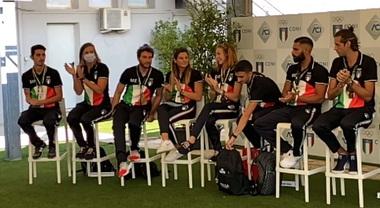 Al Gp di Monza Malago e Sticchi Damiani celebrano gli olimpionici di Tokyo