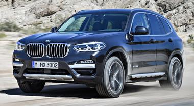BMW X3, look aggressivo e tanta tecnologia per la terza generazione del Sav di Monaco