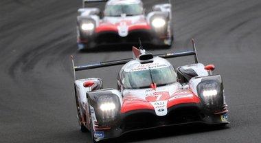 Le Toyota in fuga, un giro di vantaggio dopo 3 ore. Nella GTE grande lotta tra Porsche e Ford