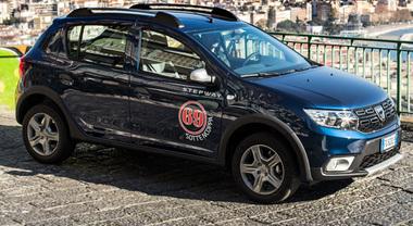 Dacia riparte da Napoli con Sandero: molto di più, senza aumenti di prezzo
