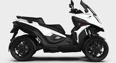 eQooder, svelato a Ginevra il veicolo a quattro ruote elettrico di Quadro Vehicles