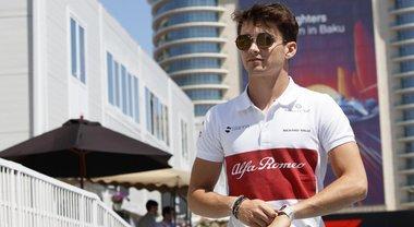 Leclerc, un sesto posto di classe con Alfa Romeo Sauber sognando Maranello