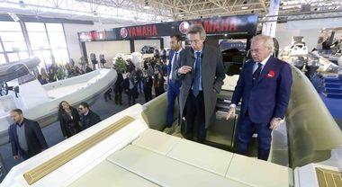 Nauticsud, il ministro Manfredi inaugura la 47^ edizione
