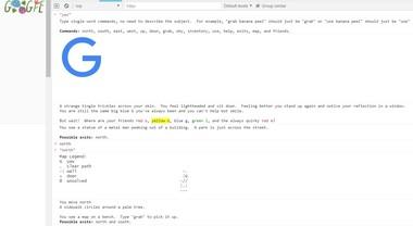 Google Chrome, c'è un gioco testuale e interattivo nascosto nel browser: ecco come funziona