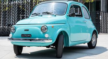 Collezione Pirelli, il Cinturato CN54 per la Fiat 500 d'epoca, quella dal 1957 al 1972