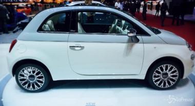 Fiat, ecco la nuova 500 Collezione. Al debutto al Salone di Ginevra 2018