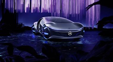 Mercedes Vision AVTR, ispirata al futuro ammiratissima al CES 2020