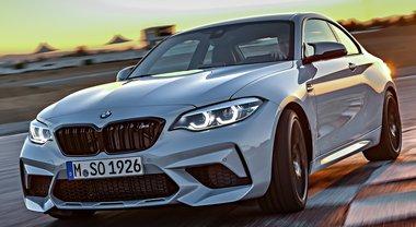 BMW M2 Competition, cattiveria da vendere per la più piccola della famiglia