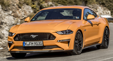 Grinta Mustang: dieci marce e più tecnologia. La mitica Ford fa un passo avanti
