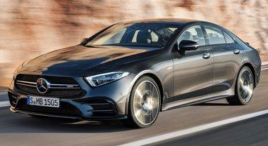 Mercedes-Amg CLS 53 4Matic+, la coupé ibrida che regala emozioni grazie all'EQ Boost