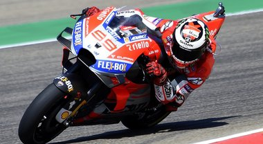 Aragon, Lorenzo in pole davanti a Dovizioso e Marquez