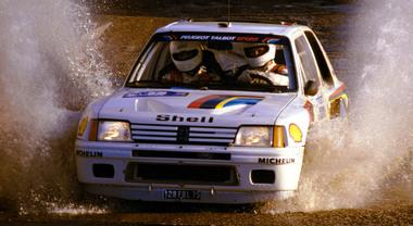 Peugeot 205 Turbo 16, la regina del Gruppo B: 4 Mondiali rally nel biennio 1985-86