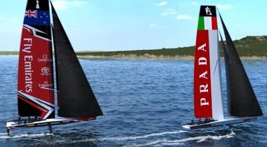 Luna Rossa scalda i motori, Pirelli e Prada saranno co-title sponsor
